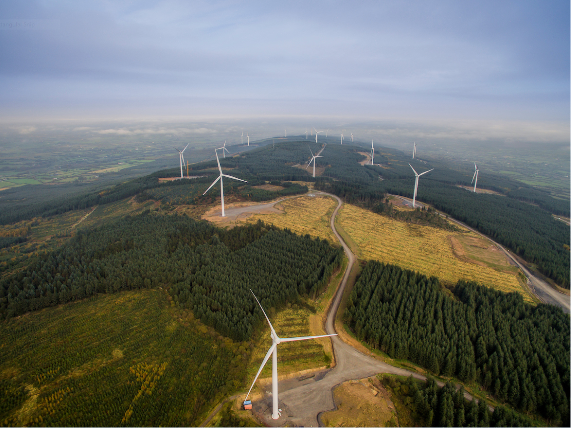 Sliabh Bawn Wind Farm Coillte Power Biomass