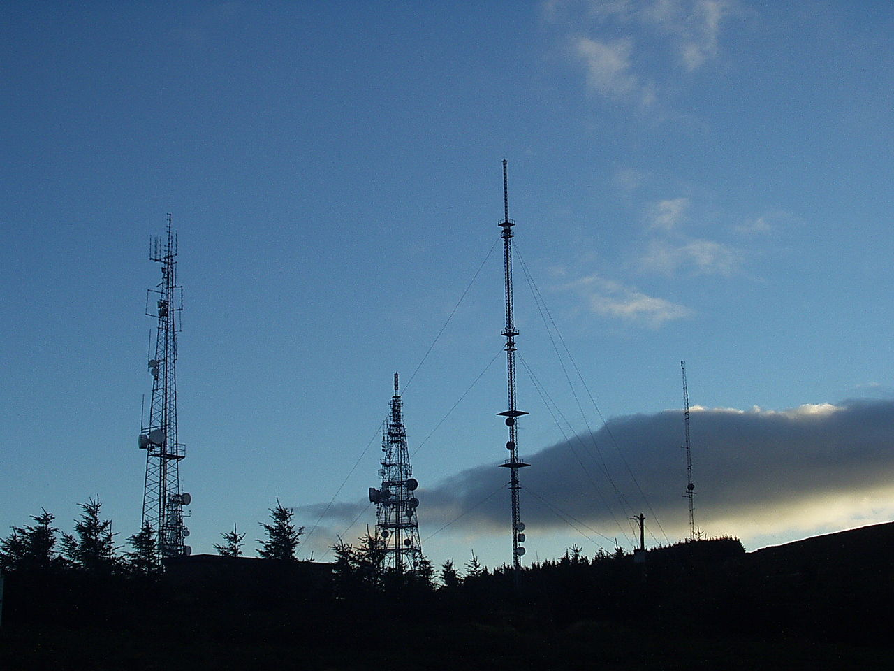 Three Rock telecoms mast site