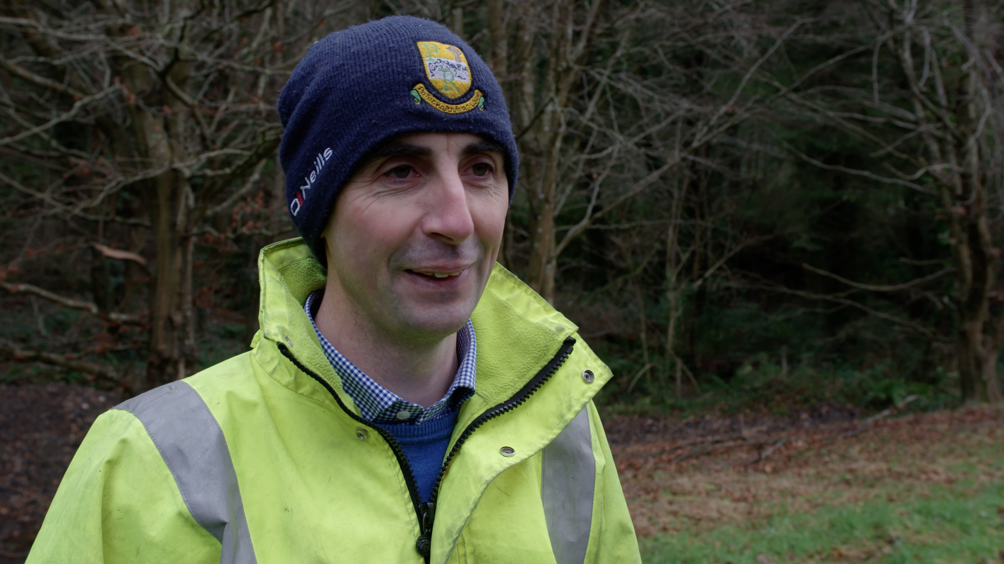Coillte Employee Ger Buckley