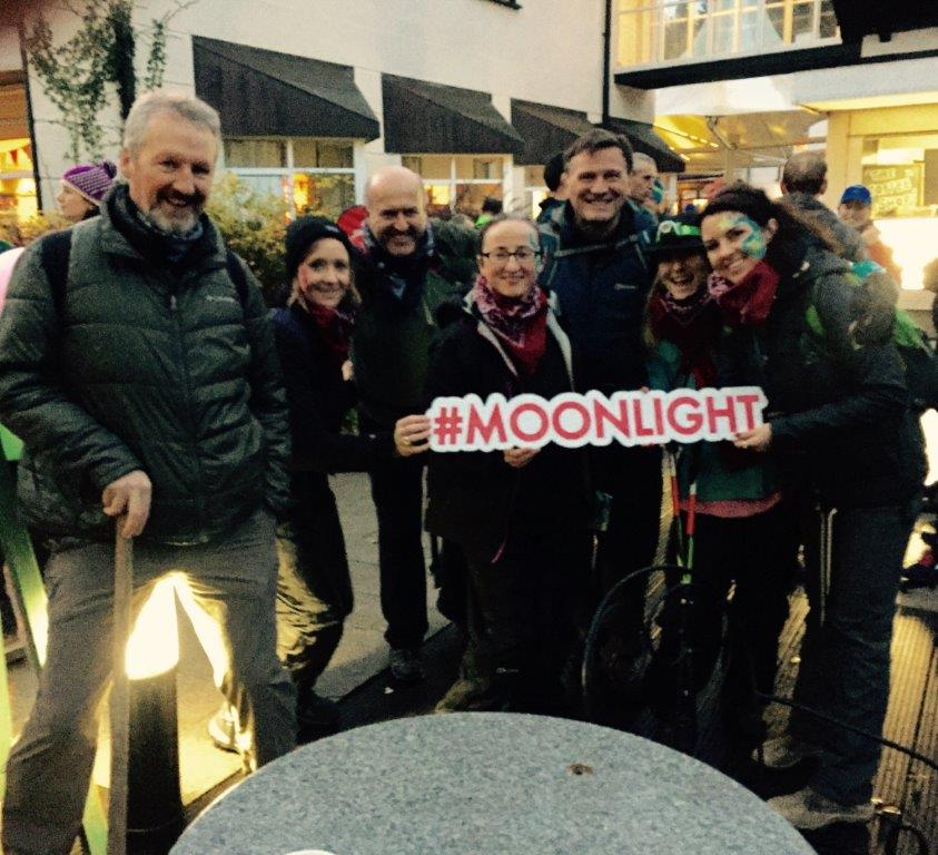 Picture of Coillte team for Glen of Imaal Mountain Rescue Moonlight Challenge
