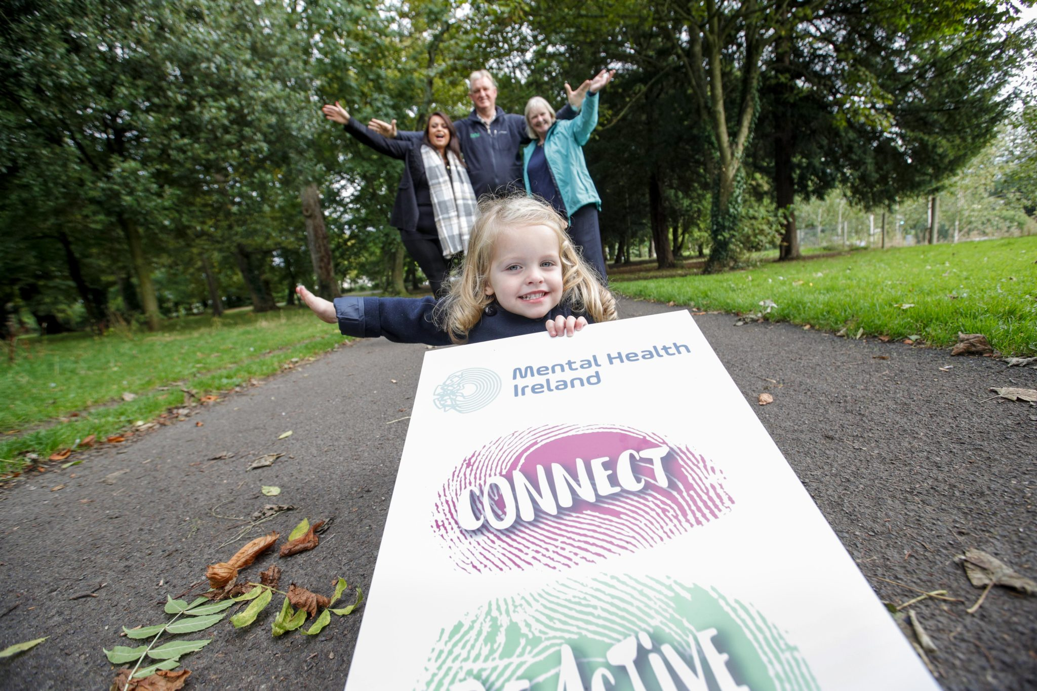 Mental Health Ireland on their 5,000 Steps to Wellbeing Walk in Avondale Forest Park on 9th October to celebrate Mental Health Week.