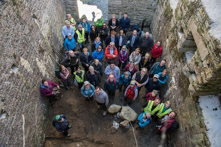 Picture of Glenmalure community Group at Baravore