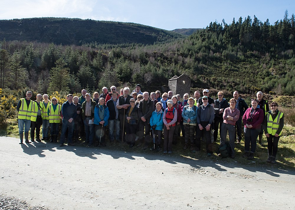 Picture of Glenmalure Community Group at Baravore Open Day