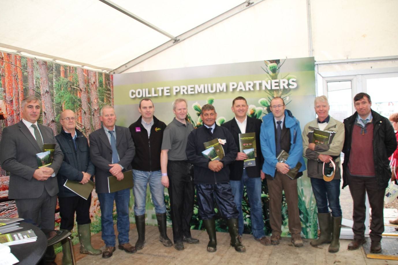 Launch of Coillte Drivers Guide Ploughing Championships 2017