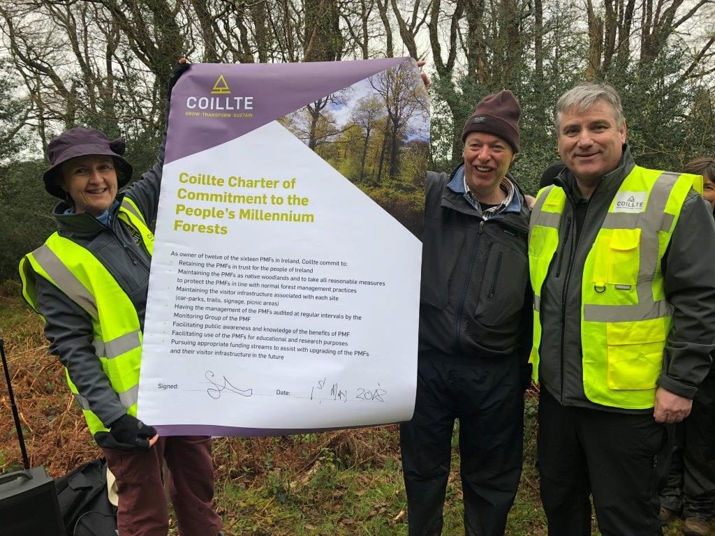 Picture of Signing of Coillte's new Charter of Commitment for the People's Millennium Forests