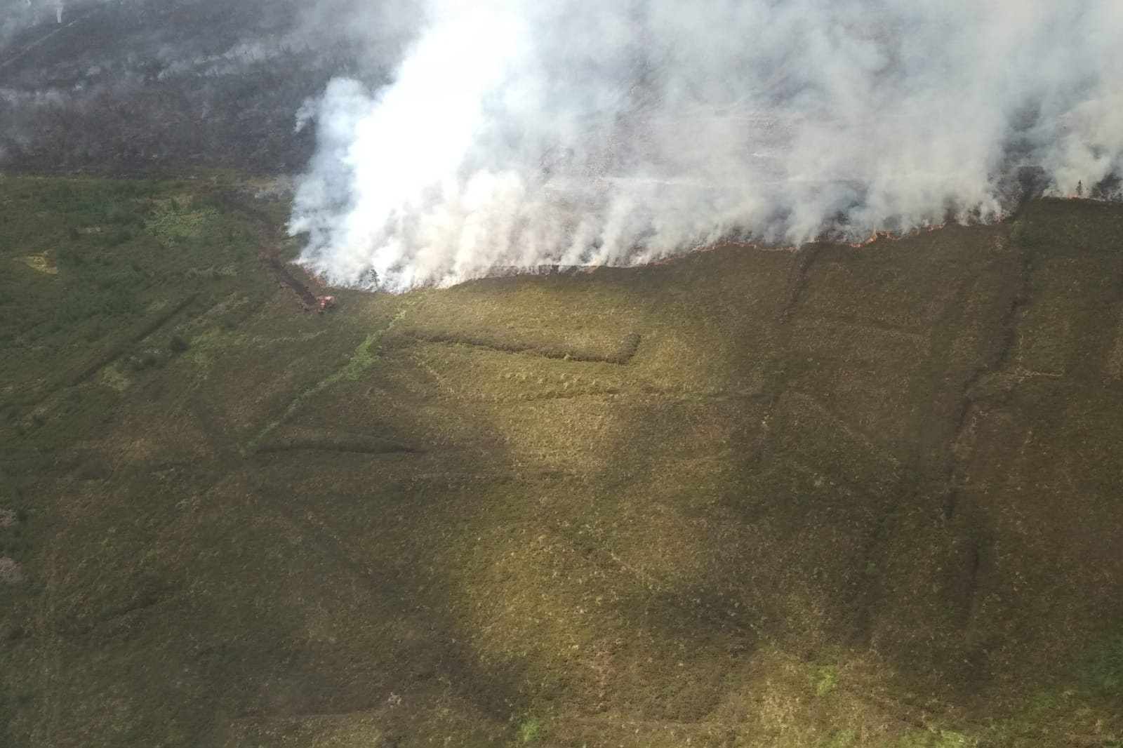 Picture of Fire in the Slieve Bloom Mountains