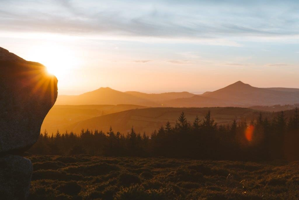Picture of Sunrise at Coilltes Dublin Mountain Forests