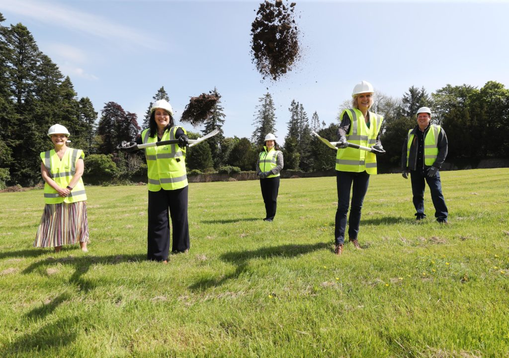 Launch of Coillte and Failte Ireland's redevelopment of Avondale House and forest park with sod turning event